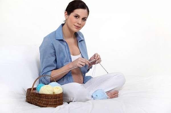 беременность и вязание