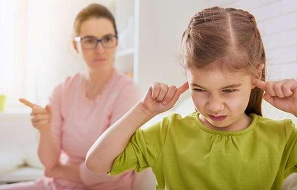 почему не стоит ругать ребенка