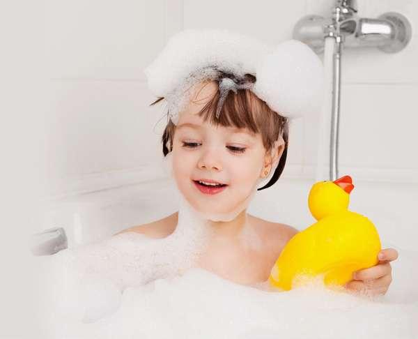 Как купать детей