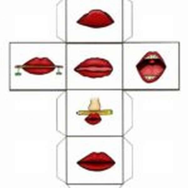 Схема третьего кубика