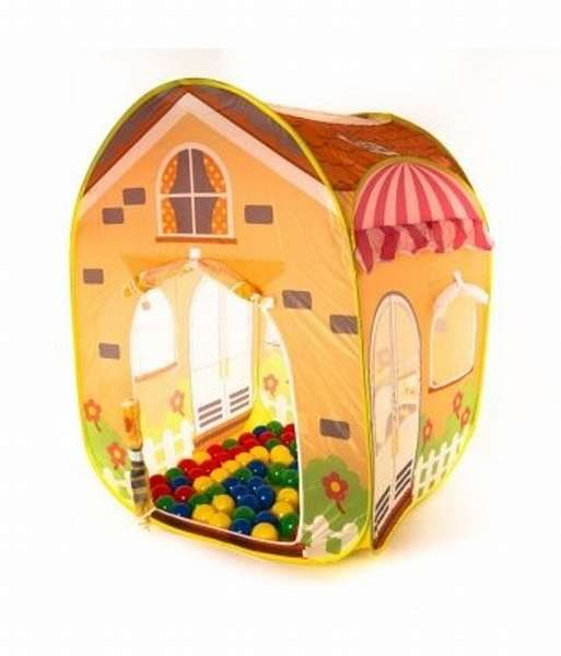 домик с шариками