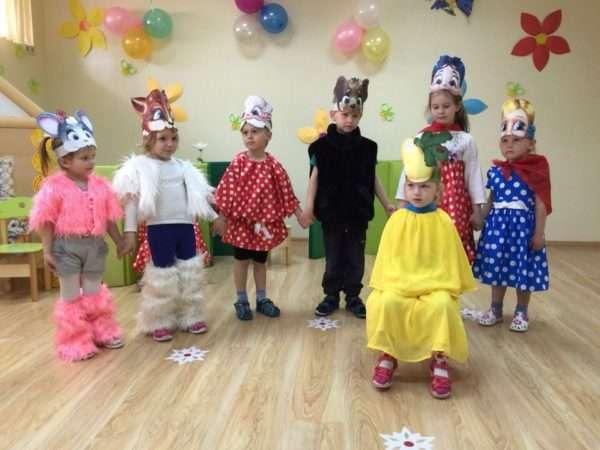 Театральная студия в детском саду