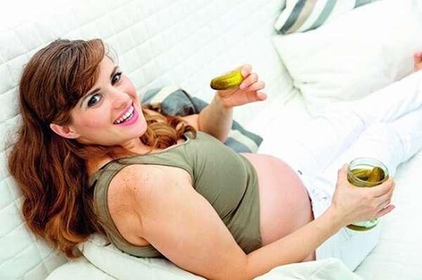 во время беременности тянет на соленое