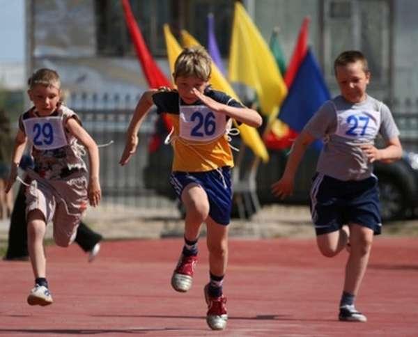Легкая атлетика для детей