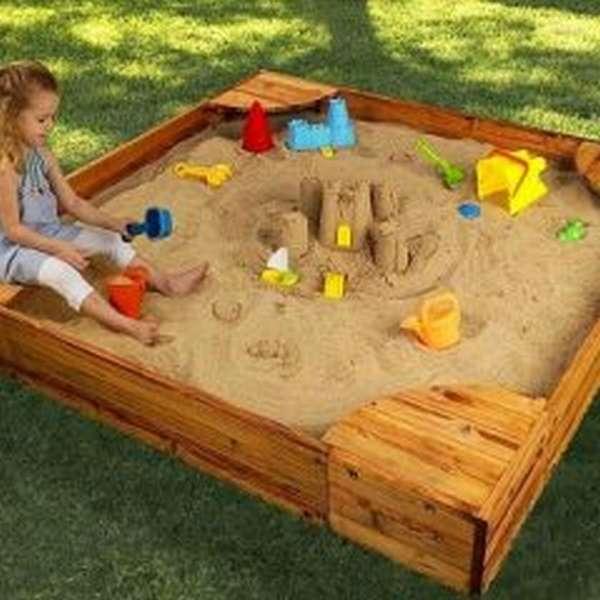 детская песочница уличная