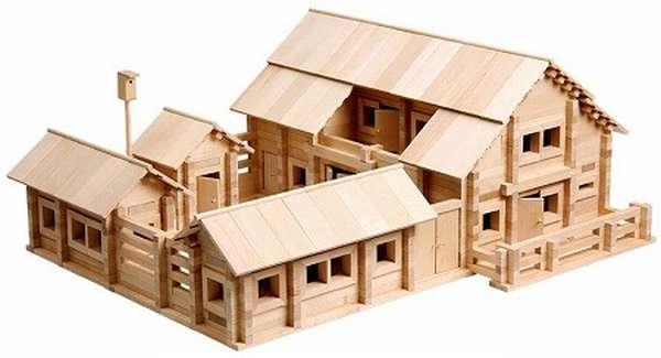 Деревянные конструктор