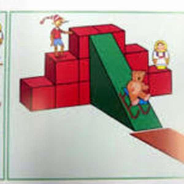 Схема горки для игрушек