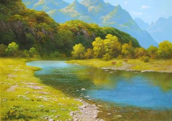 Пейзаж (автор Канг Джон Хо)